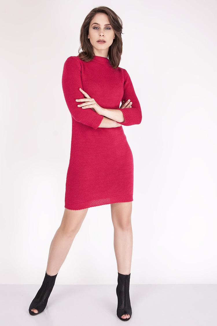 Sukienka Model SUK001 Raspberry - MKM