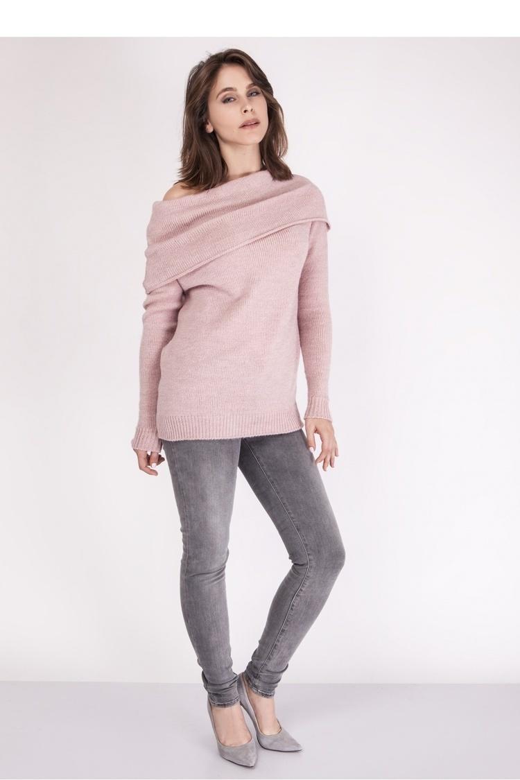 Sweter SWE127 Pastel Pink - MKM