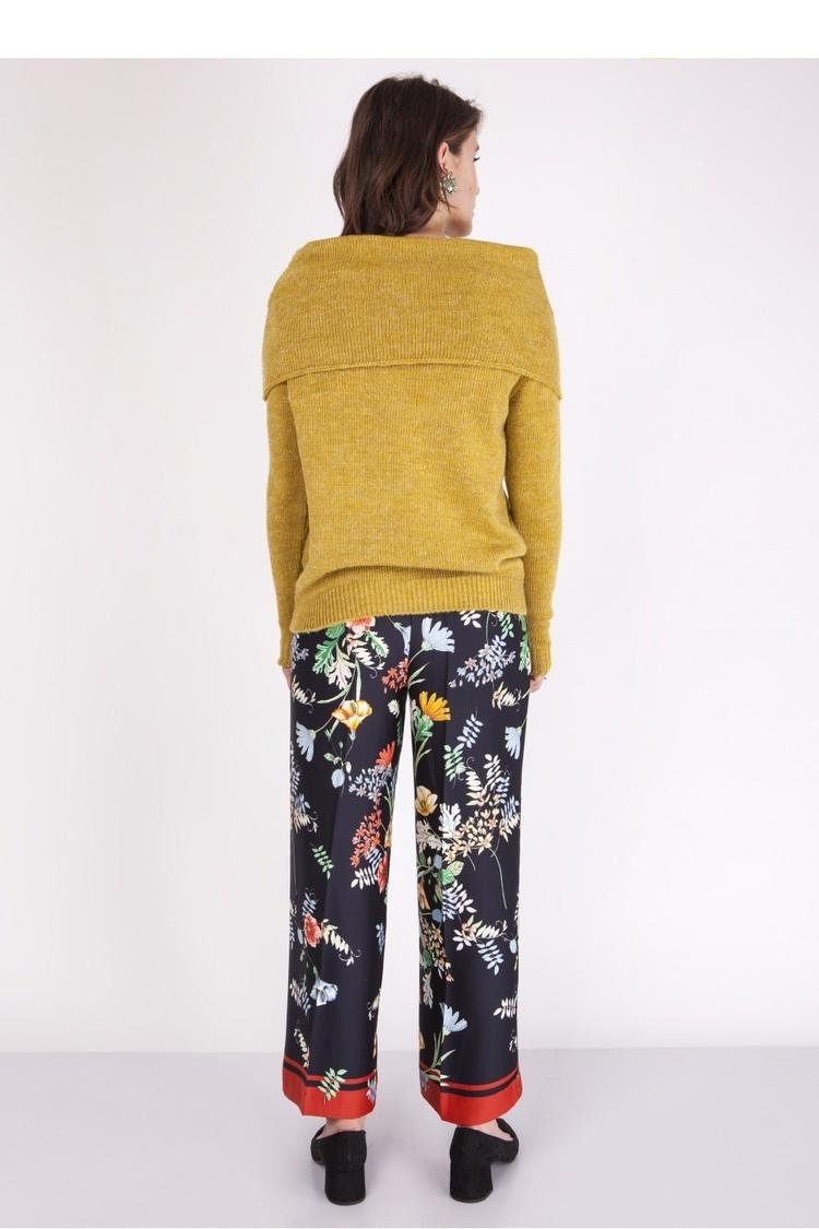 Sweter SWE127 Mustard - MKM