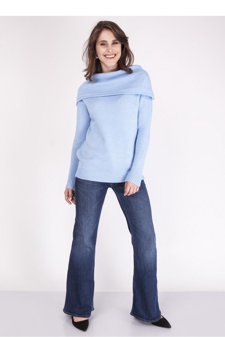 Sweter SWE127 Blue - MKM