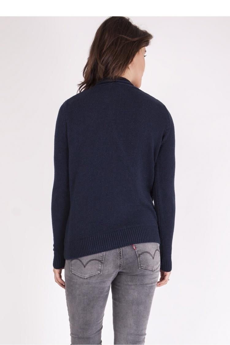 Sweter SWE126 Navy Blue - MKM