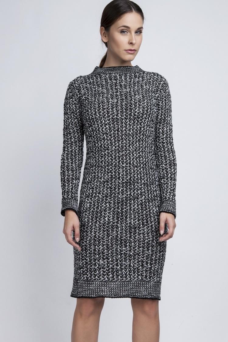 Sukienka dzienna SUK002 Light Grey - MKM