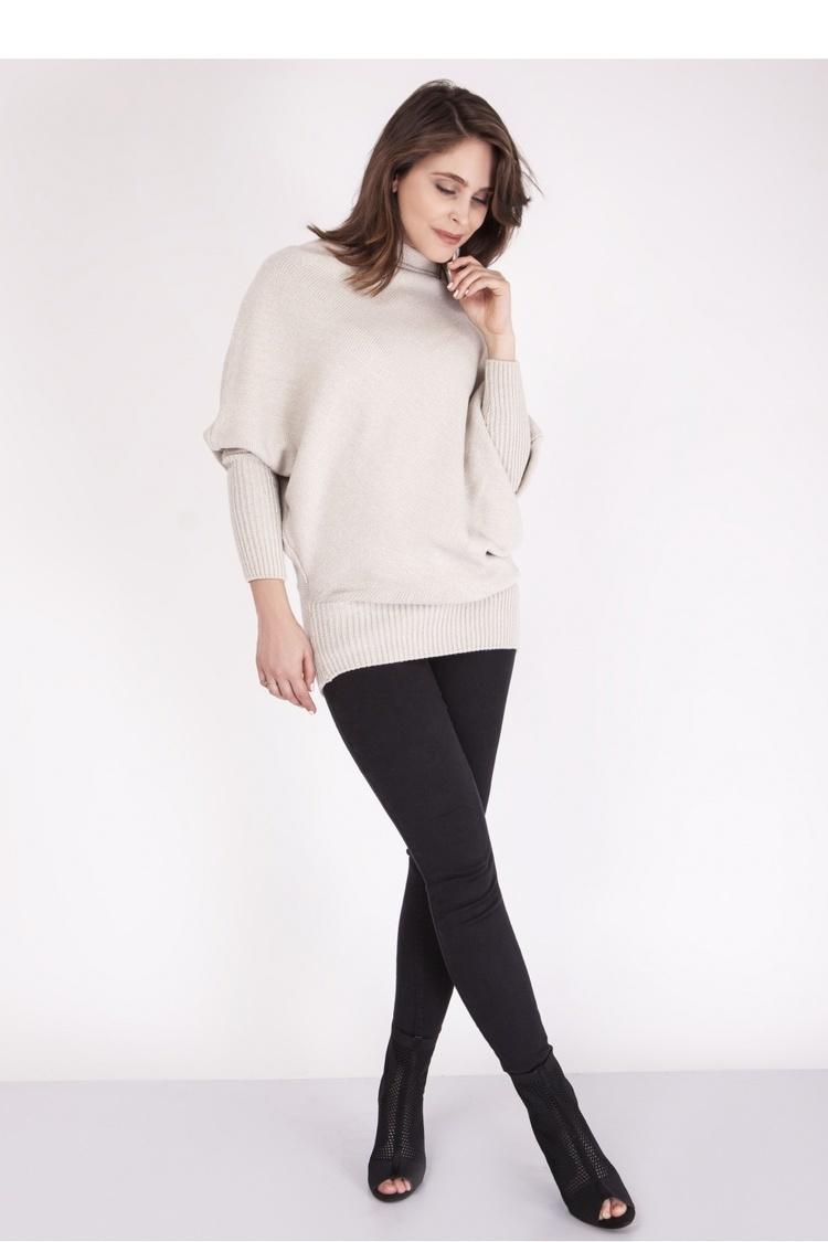 Sweter SWE125 Beige - MKM