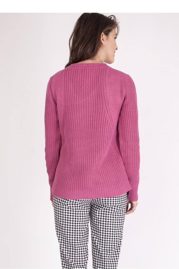 Sweter SWE123 Pink - MKM