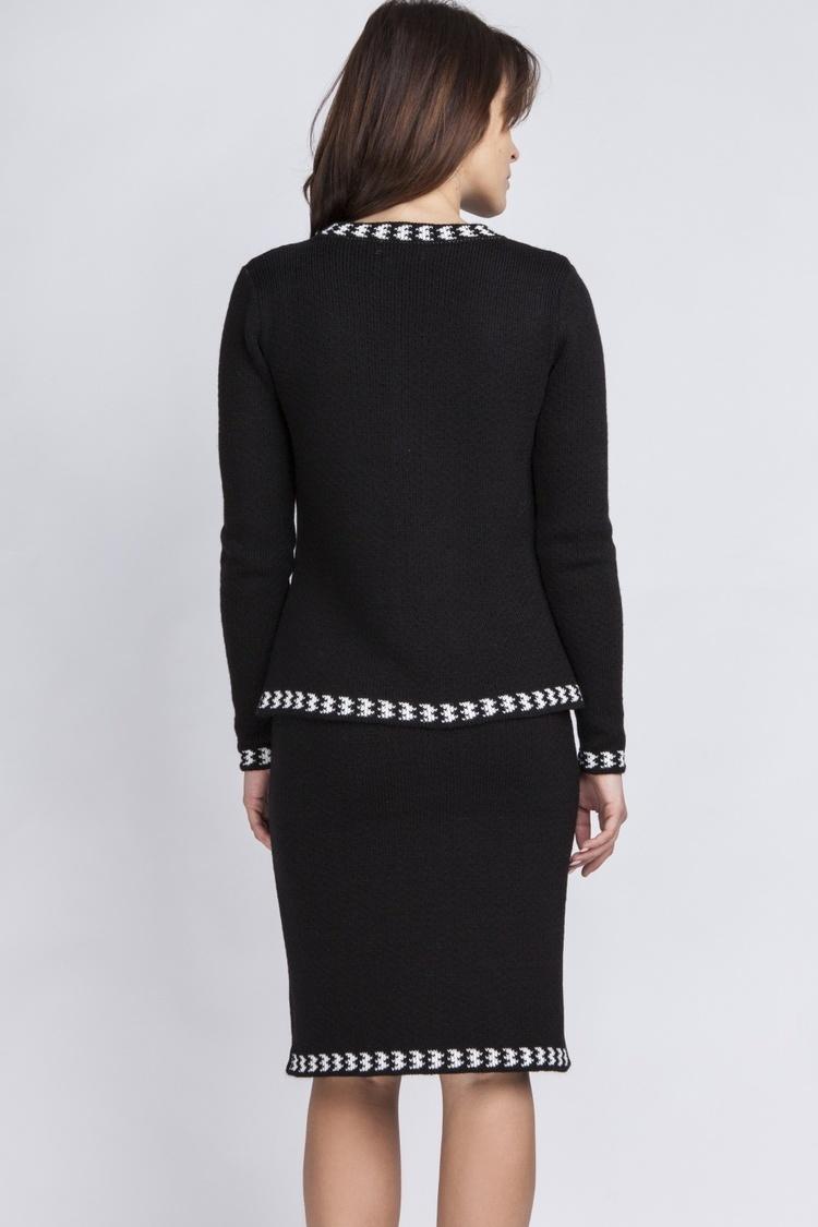 Spódnica Kostium model KOS001 Black - MKM
