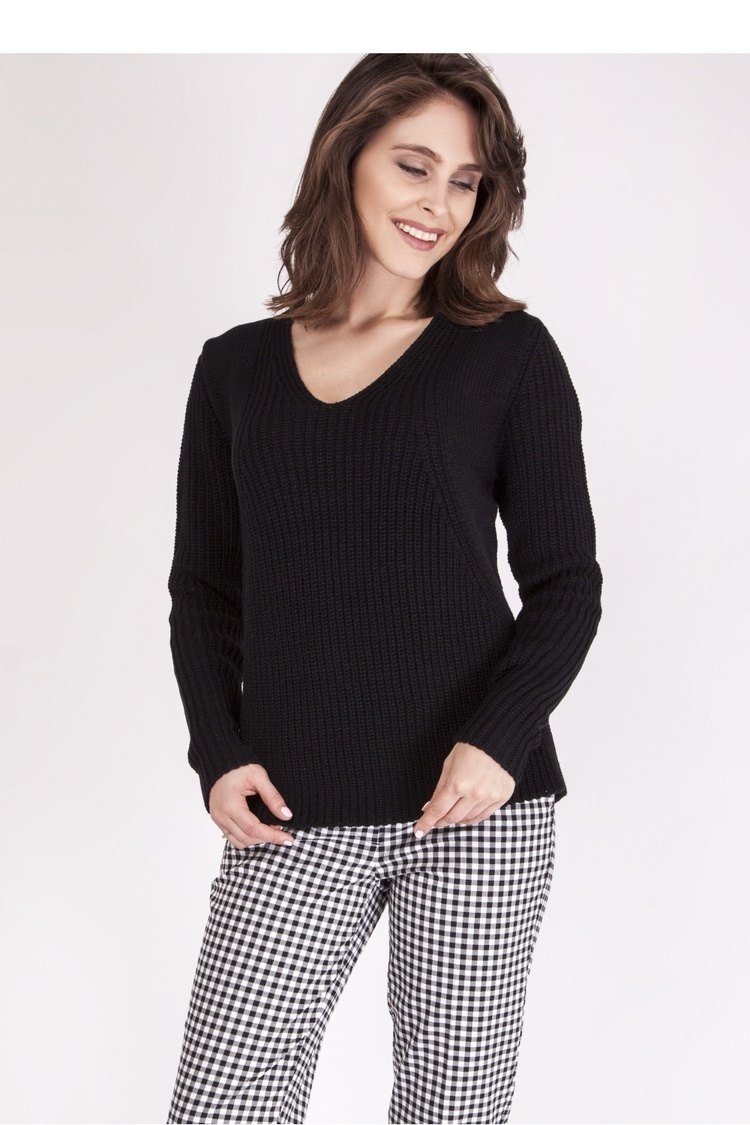 Sweter SWE123 Black - MKM