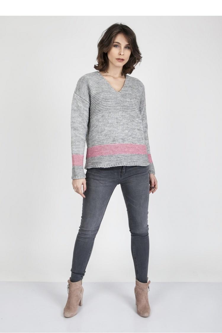 Sweter SWE122 Gray - MKM