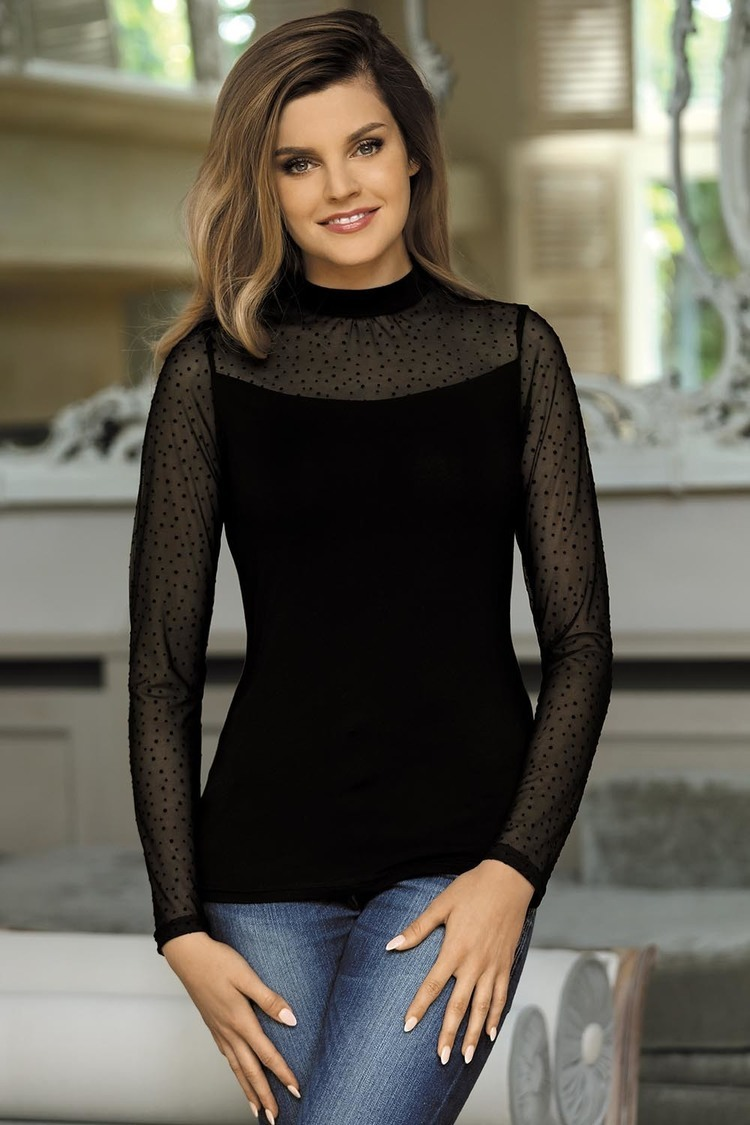 Bluzka Model Noelia Black - Babell