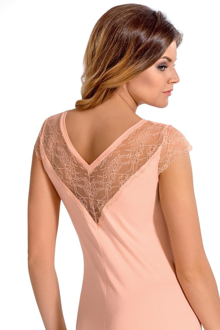 Koszulka nocna Koszula Nocna Model Marie Brzoskwinia - Babella