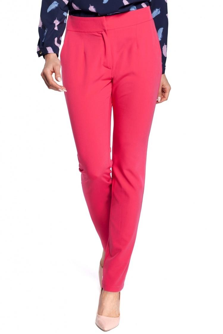 Spodnie damskie Model MOE303 Pink - Moe