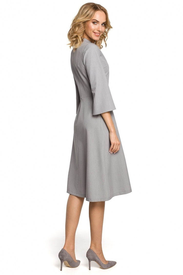 Sukienka Model MOE324 Grey - Moe