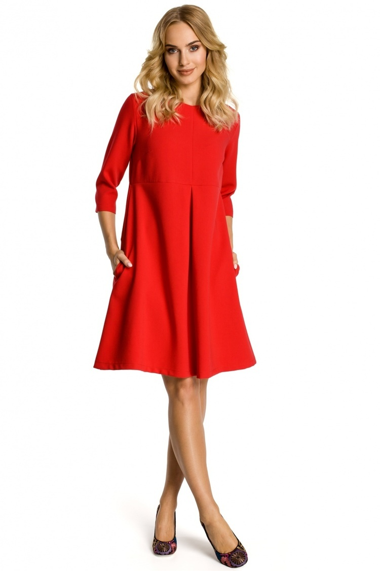 Sukienka Model MOE338 Red - Moe