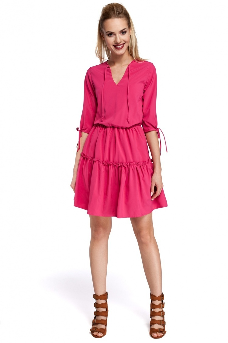 Sukienka Model MOE301 Pink - Moe