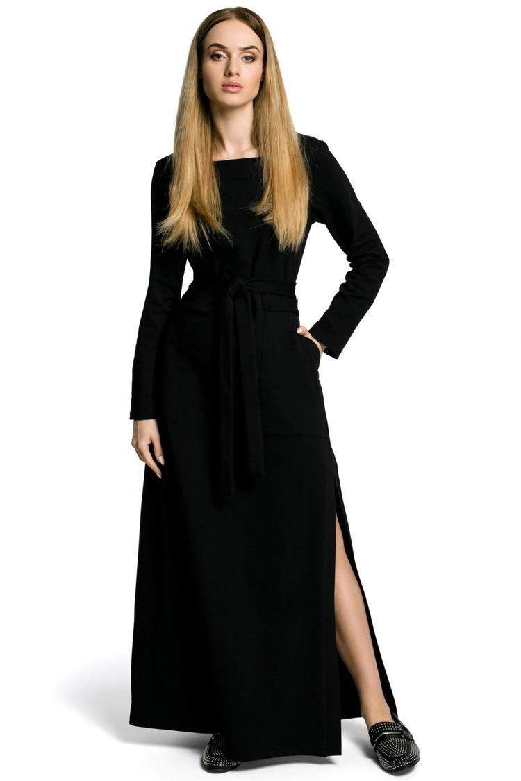 Sukienka Model MOE354 Black - Moe