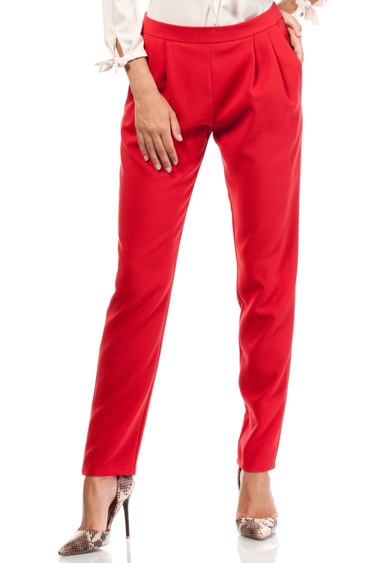 Spodnie Damskie Model MOE195 Red - Moe