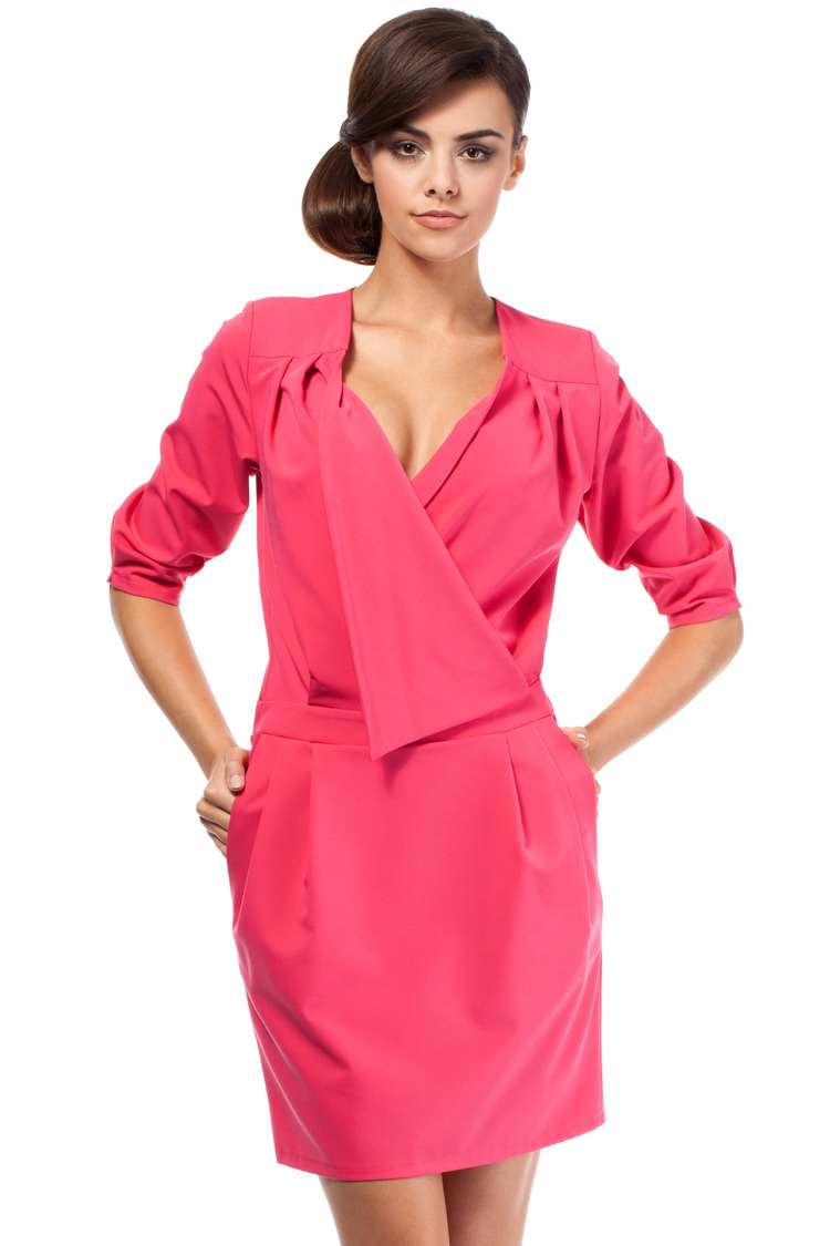 Sukienka Model MOE194 Pink - Moe