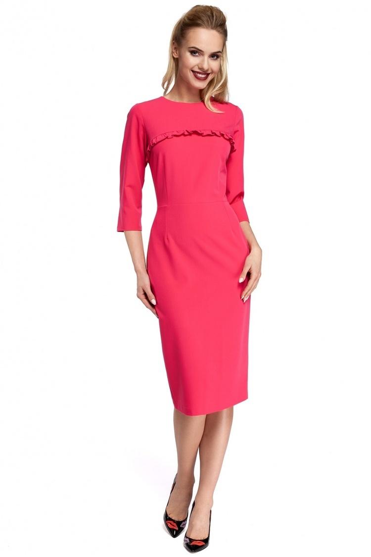 Sukienka Model MOE297 Pink - Moe