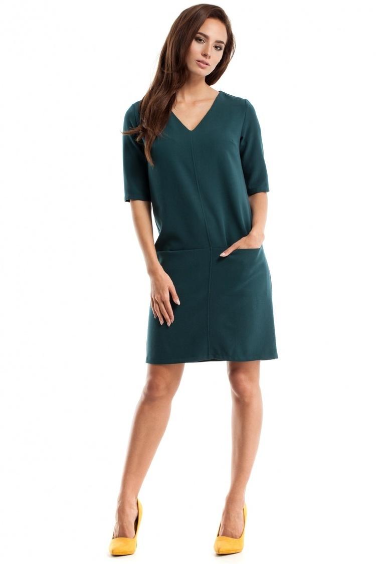 Sukienka Model MOE250 Green - Moe