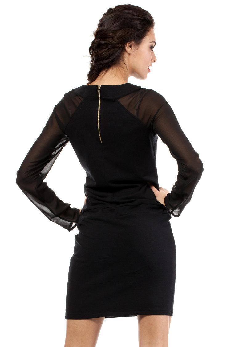 Sukienka Model MOE206 Black - Moe