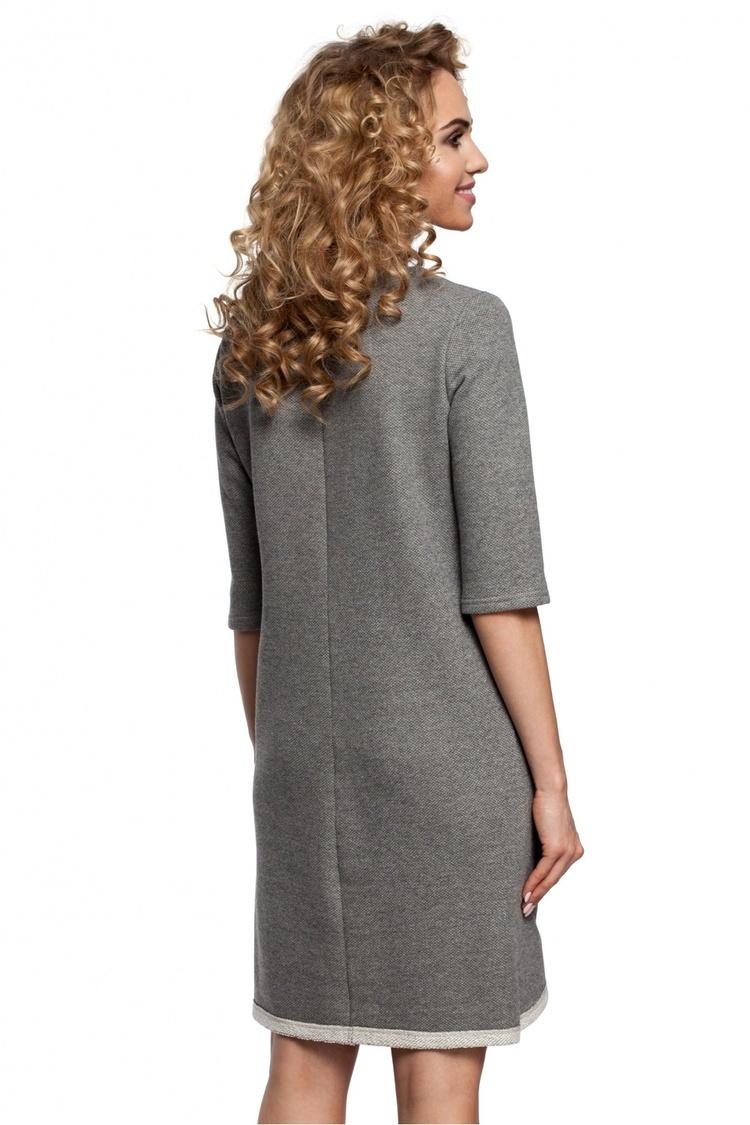 Sukienka Model MOE292 Grey - Moe