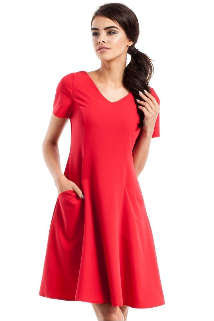 Sukienka Model MOE233 Red - Moe