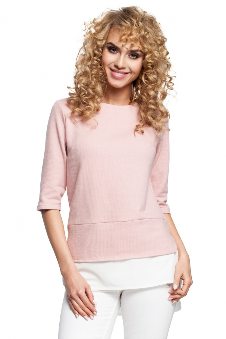 Bluzka Model MOE290 Powder Pink - Moe