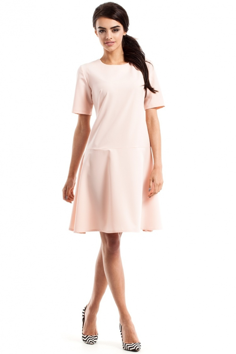Sukienka Model MOE227 Powder Pink - Moe