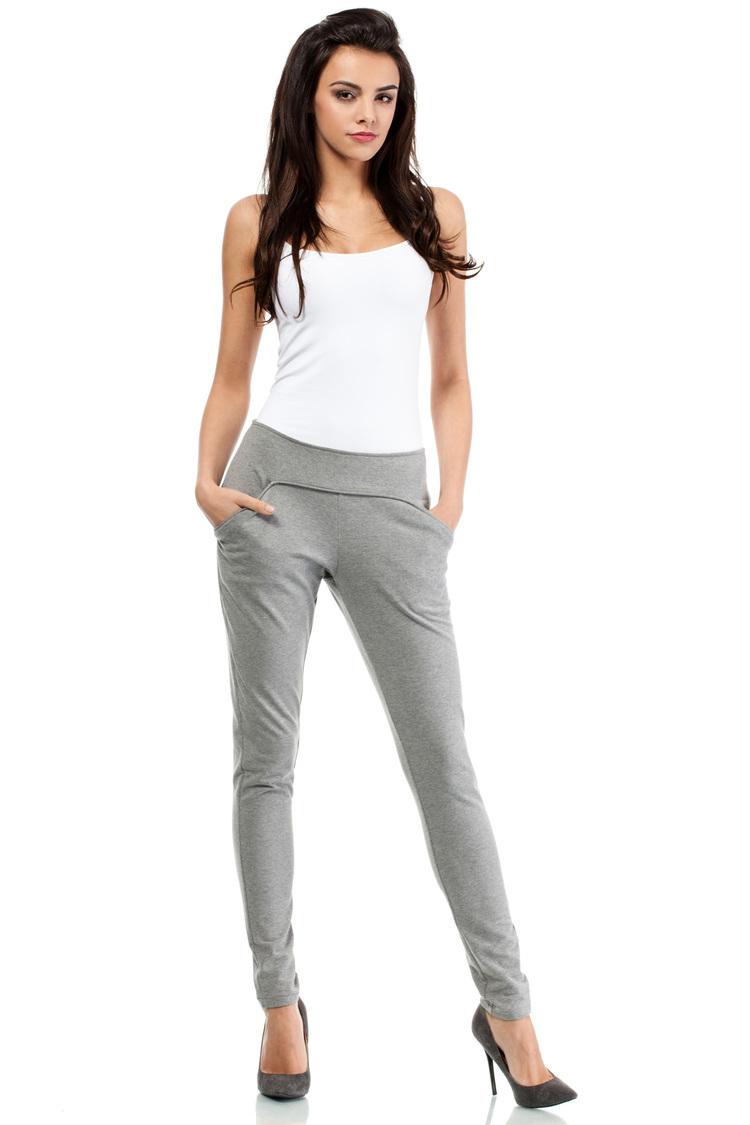 Spodnie Dresowe Model MOE198 Grey - Moe