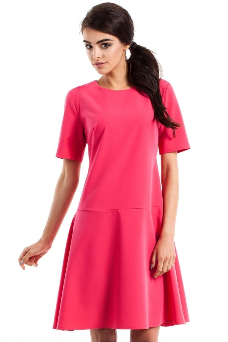 Sukienka Model MOE227 Pink - Moe