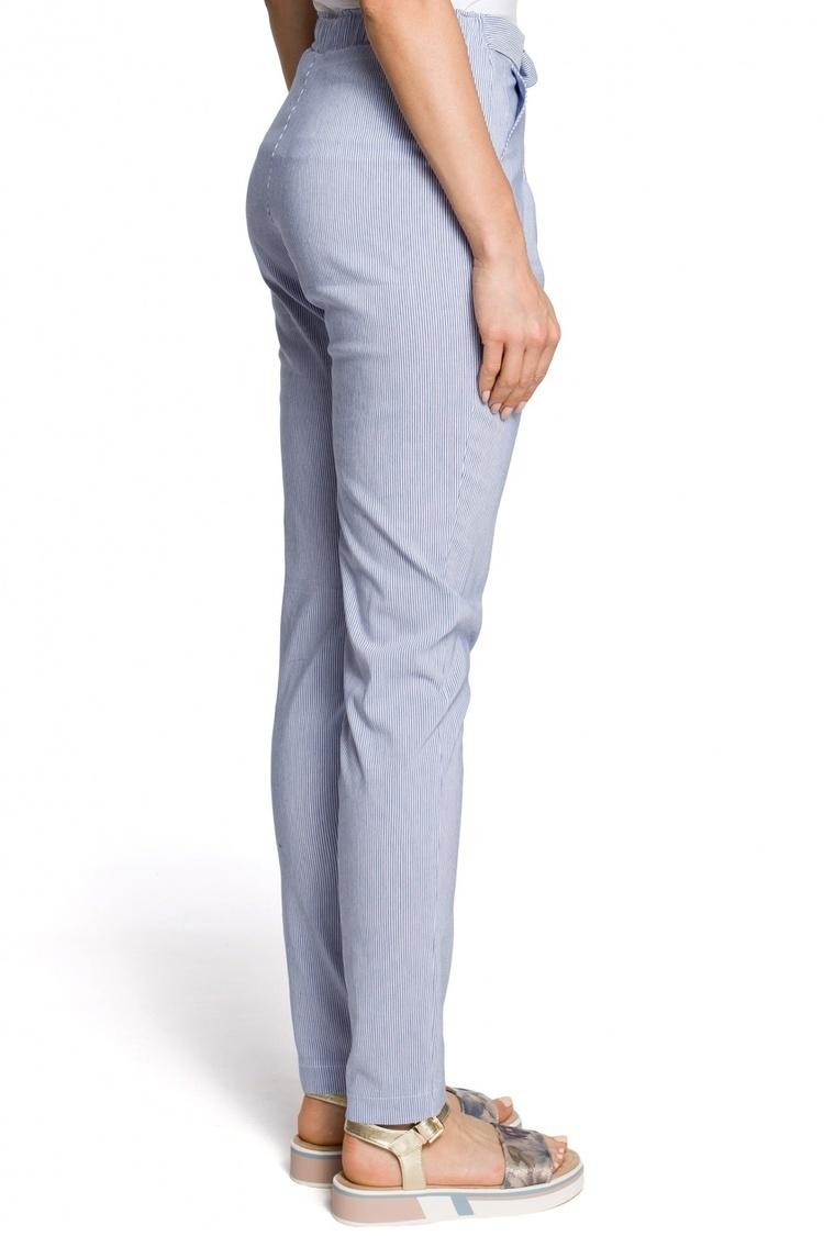 Spodnie Damskie Model MOE318 Blue - Moe