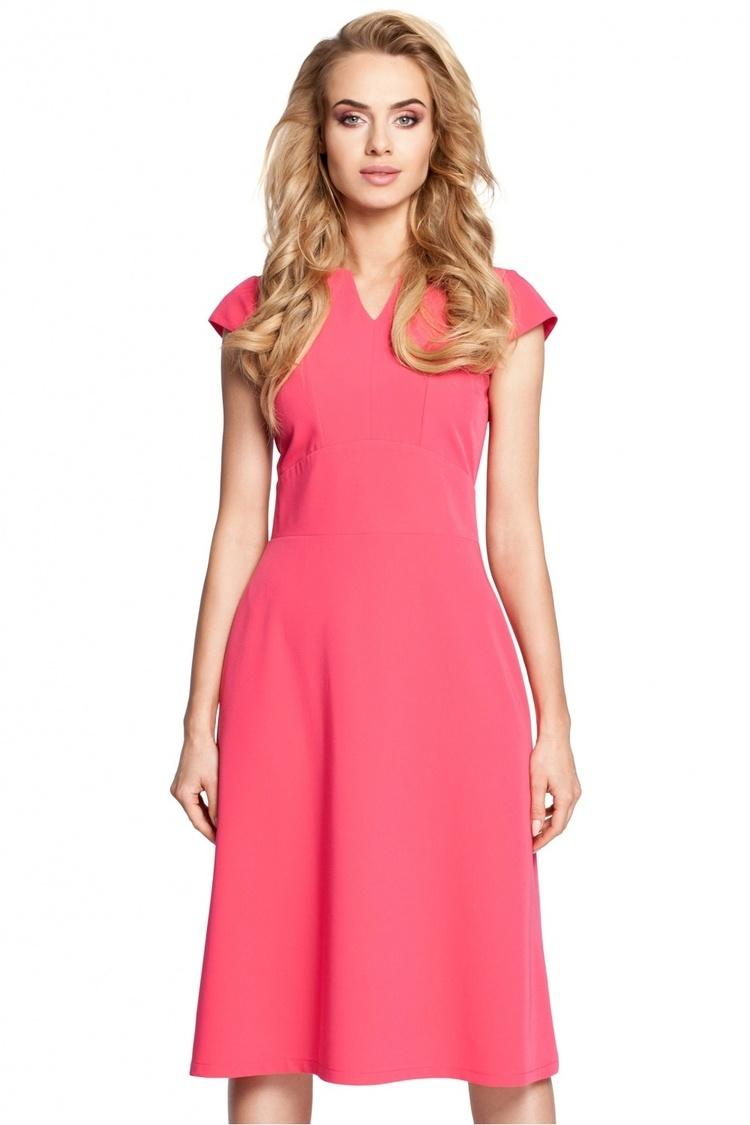 Sukienka Model MOE312 Pink - Moe