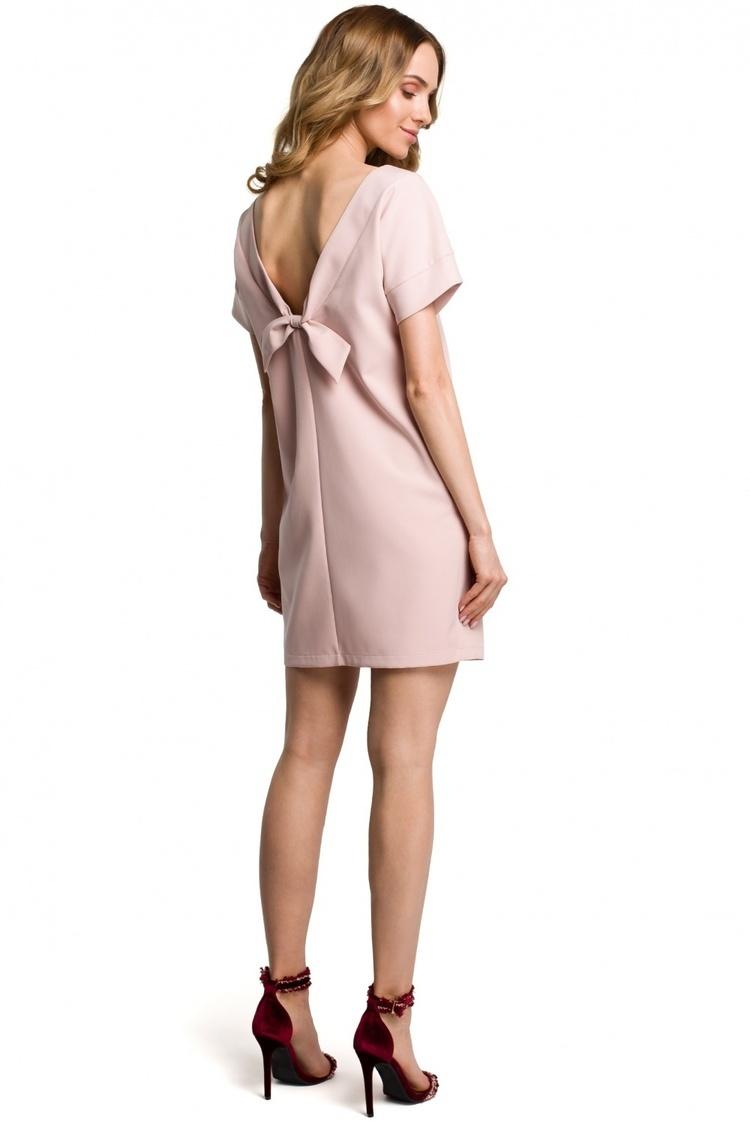 Sukienka Model MOE380 Powder Pink - Moe