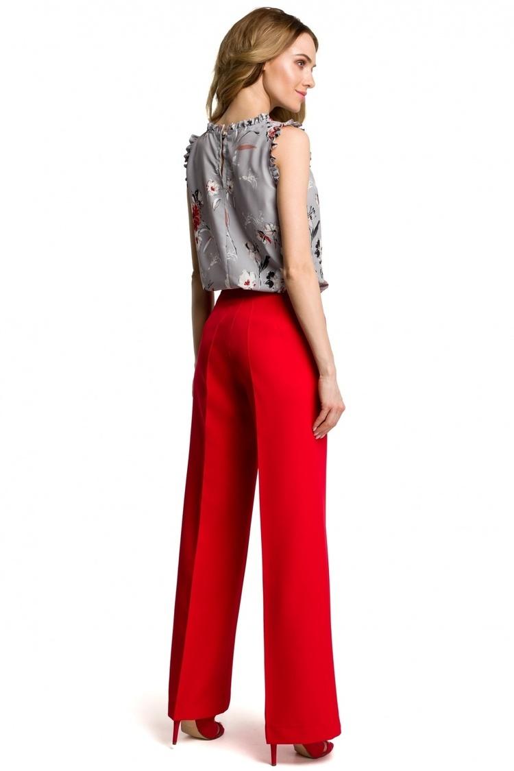 Spodnie Damskie Model MOE378 Red - Moe