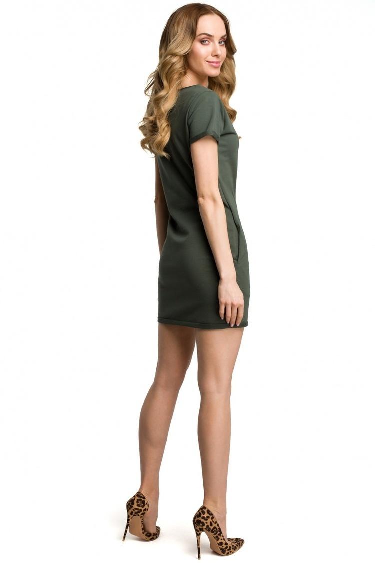 Sukienka Model MOE374 Green - Moe