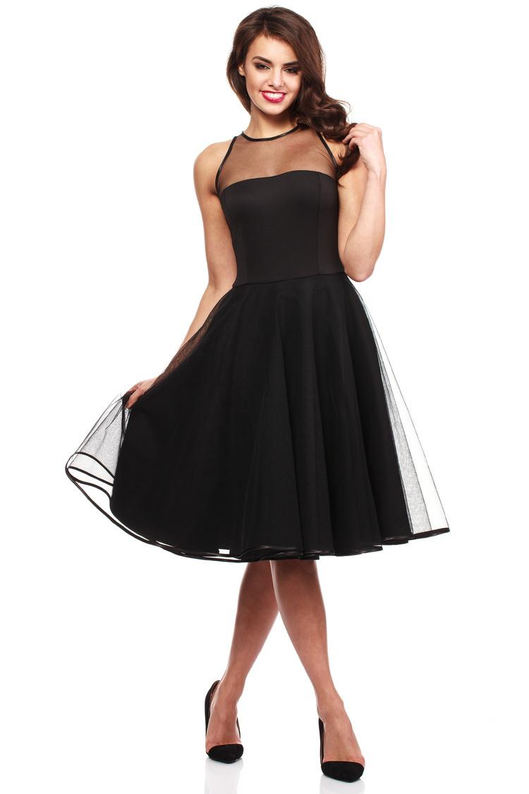 Sukienka Model MOE148 Black - Moe