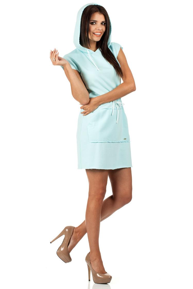 Sukienka Model MOE101 Mint - Moe