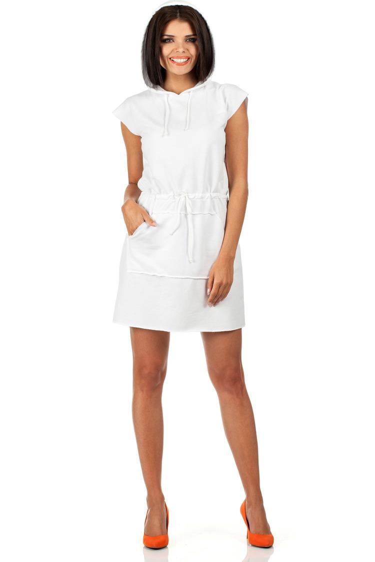 Sukienka Model MOE101 White - Moe