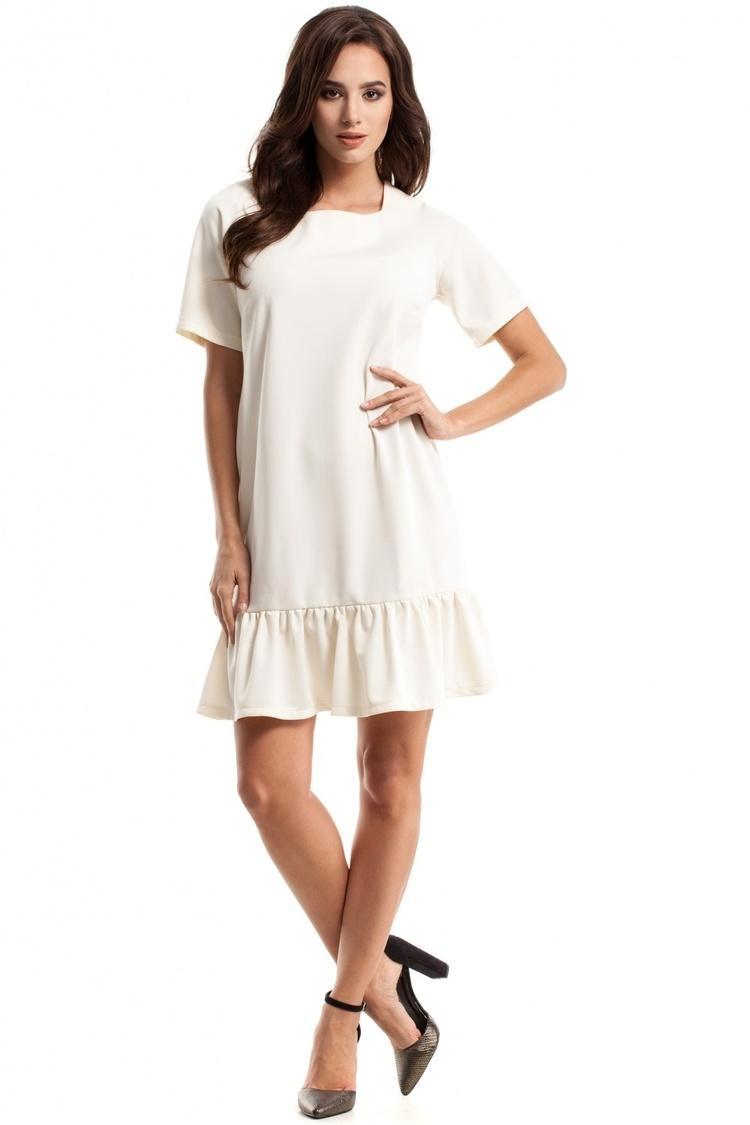 Sukienka Model MOE282 Ecru - Moe