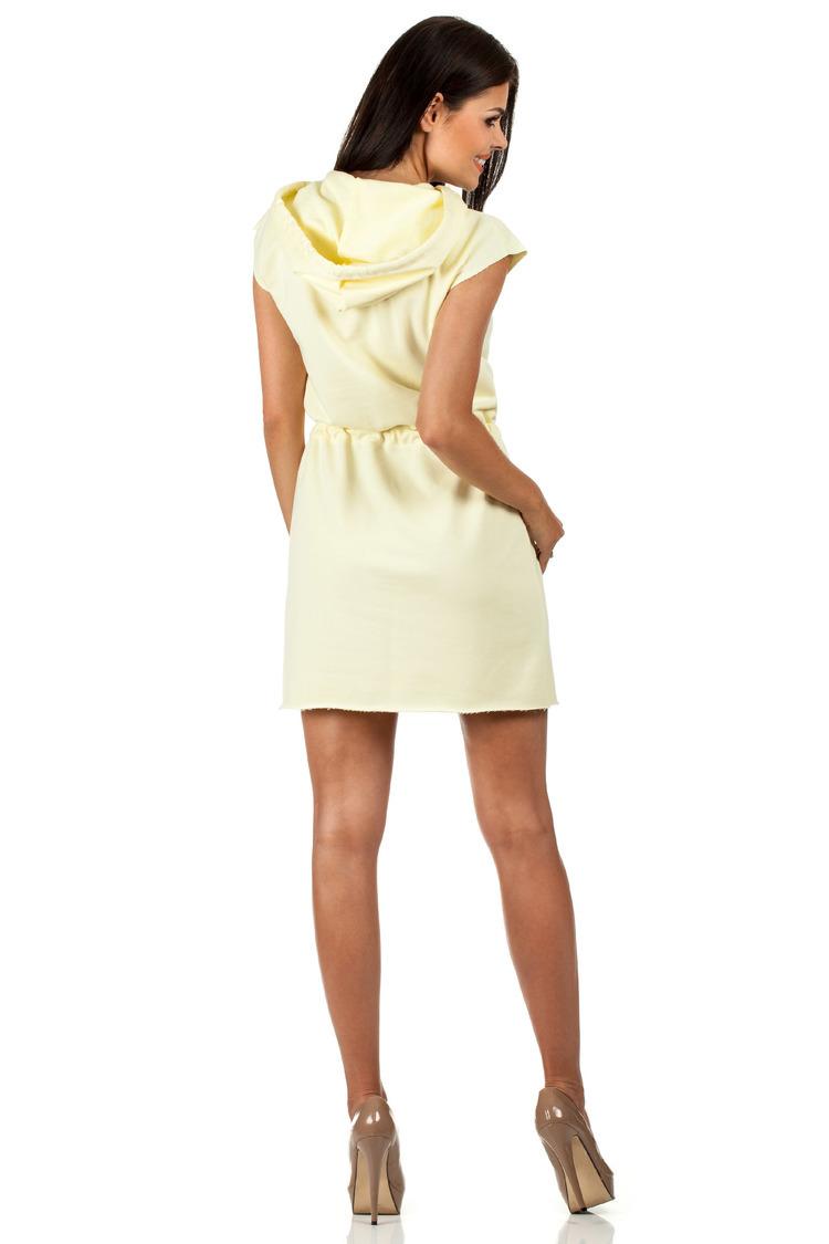 Sukienka Model MOE101 Yellow - Moe