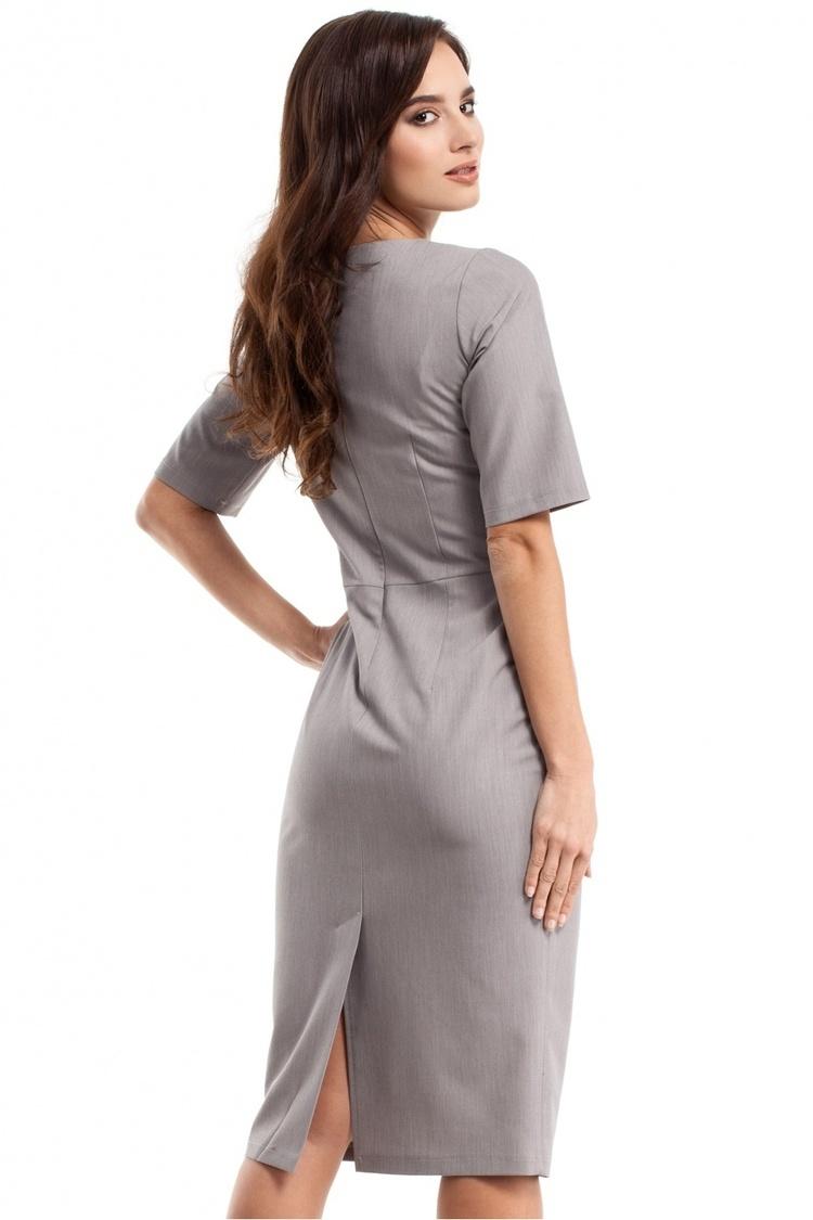 Sukienka Model MOE276 Grey - Moe