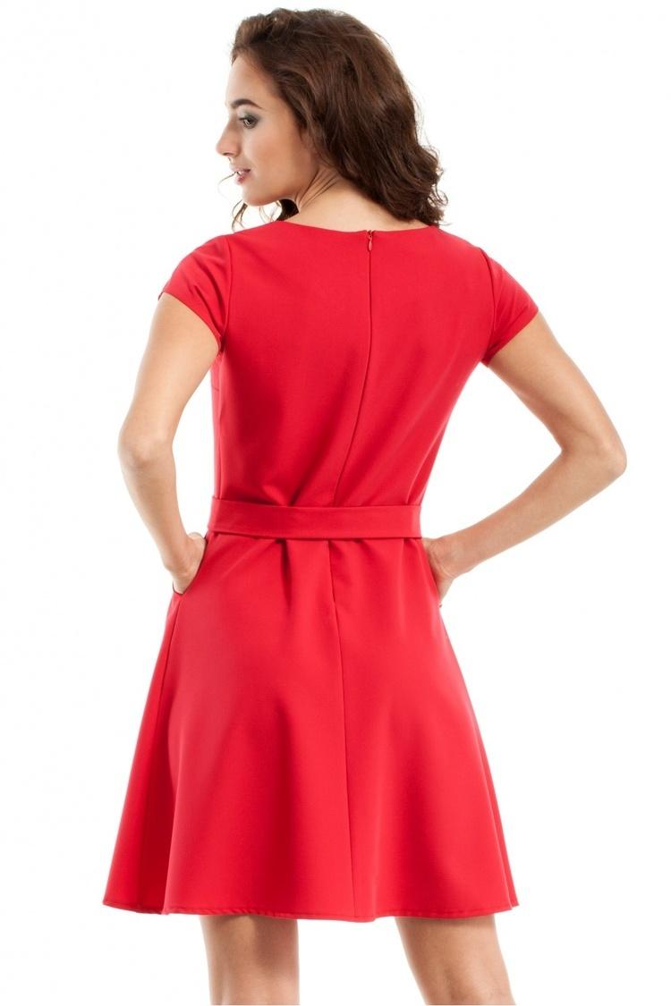 Sukienka Model MOE246 Red - Moe