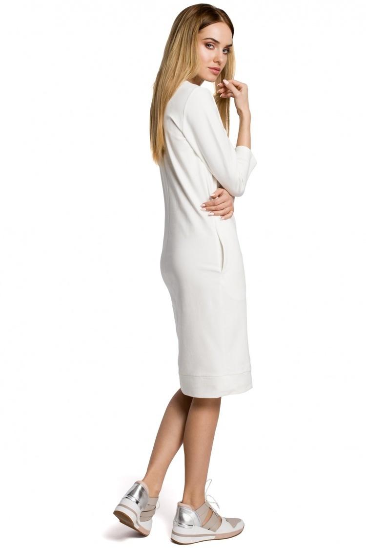 Sukienka Model MOE371 Ecru - Moe