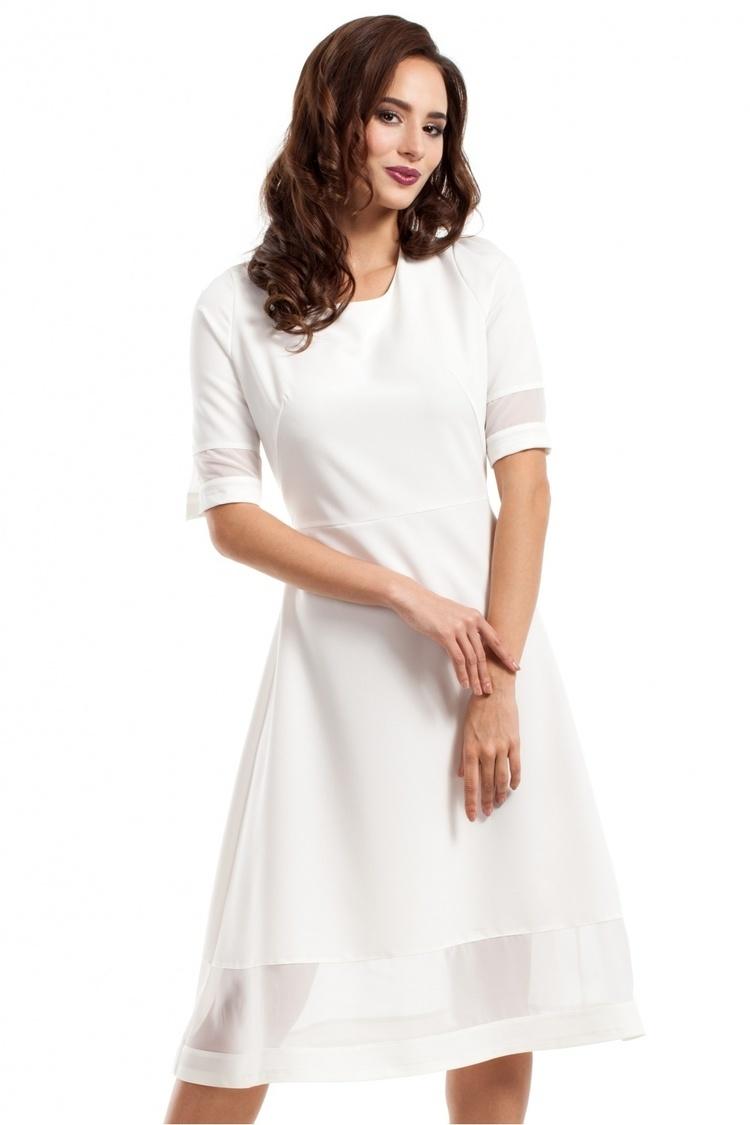 Sukienka Model MOE272 Ecru - Moe