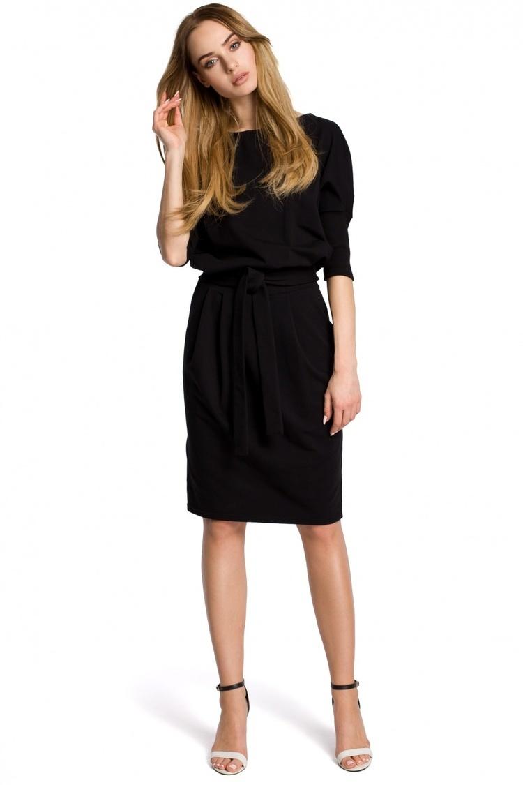 Sukienka Model MOE369 Black - Moe
