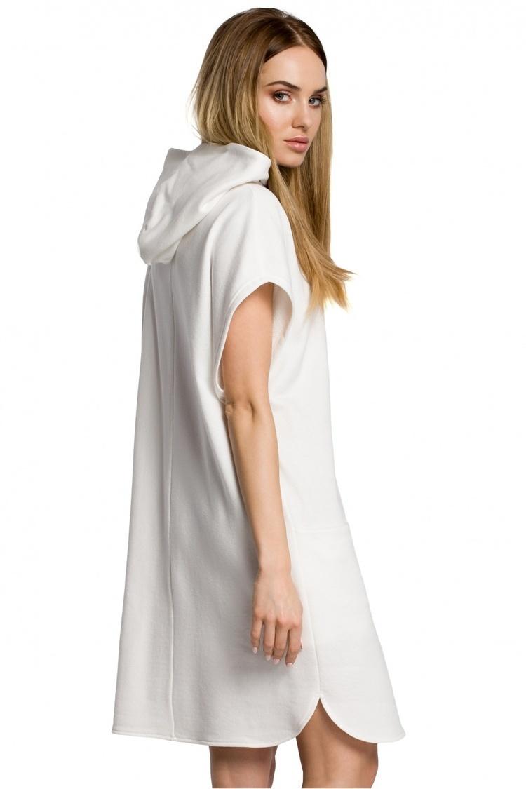 Sukienka Model MOE368 Ecru - Moe