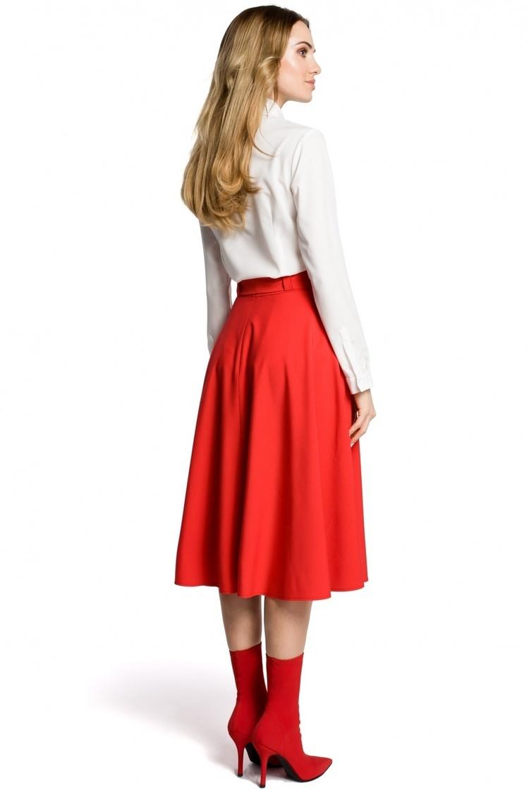 Spódnica Model MOE367 Red - Moe