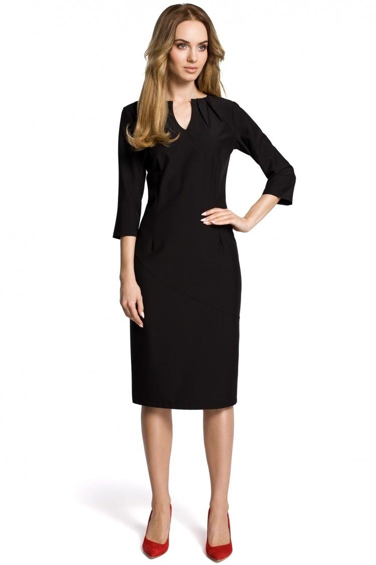 Sukienka Model MOE366 Black - Moe