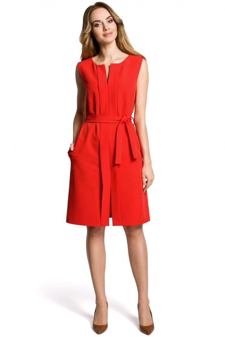 Sukienka Model MOE365 Red - Moe