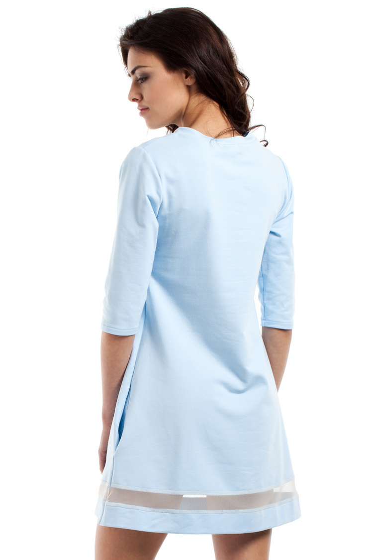 Sukienka Model MOE219 Sky Blue - Moe