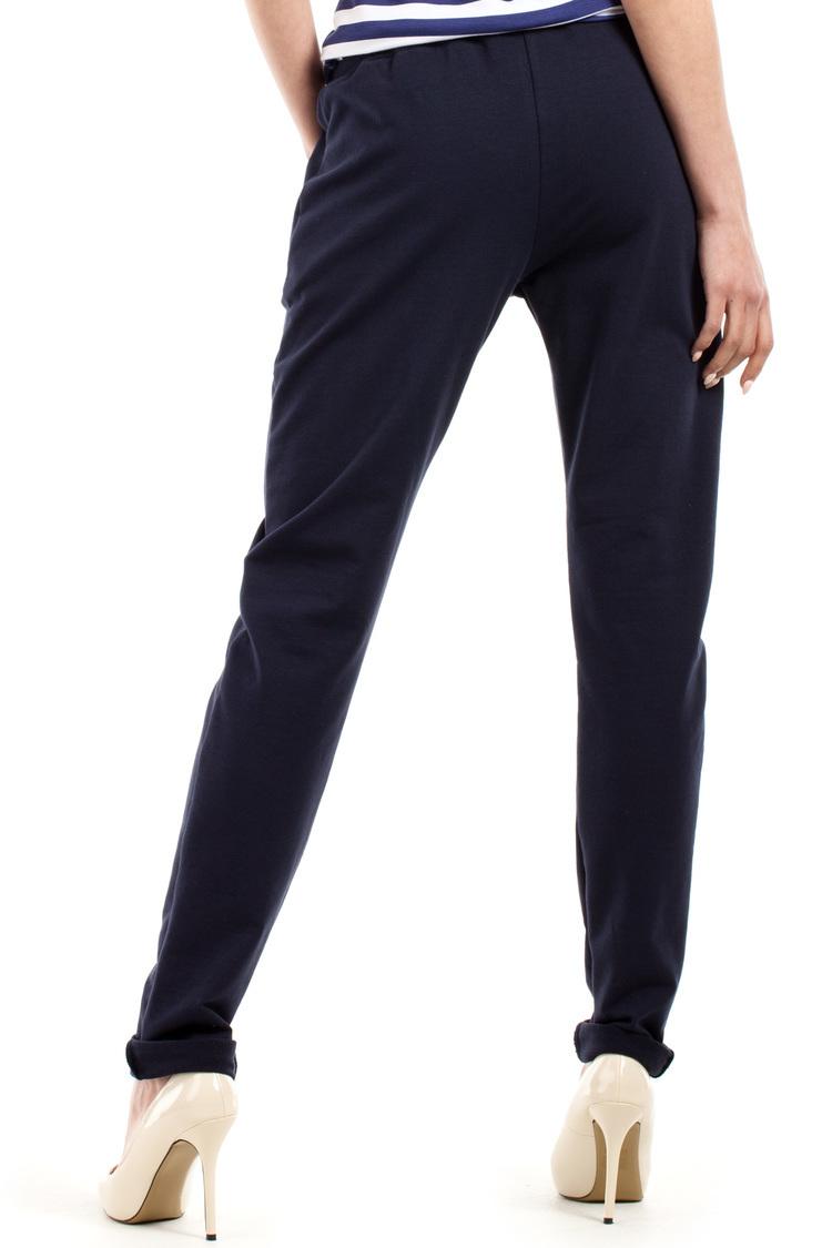 Spodnie Dresowe Model MOE208 Navy - Moe